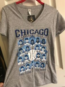 c703d8ded Image is loading Chicago-Cubs-2016-MLB-Baseball-Players-Club-Women-