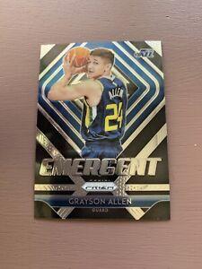 2018-19-Panini-Prizm-Basketball-Emergent-Grayson-Allen