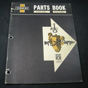 image is loading cummins-nh-250-b-diesel-engine-parts-manual-