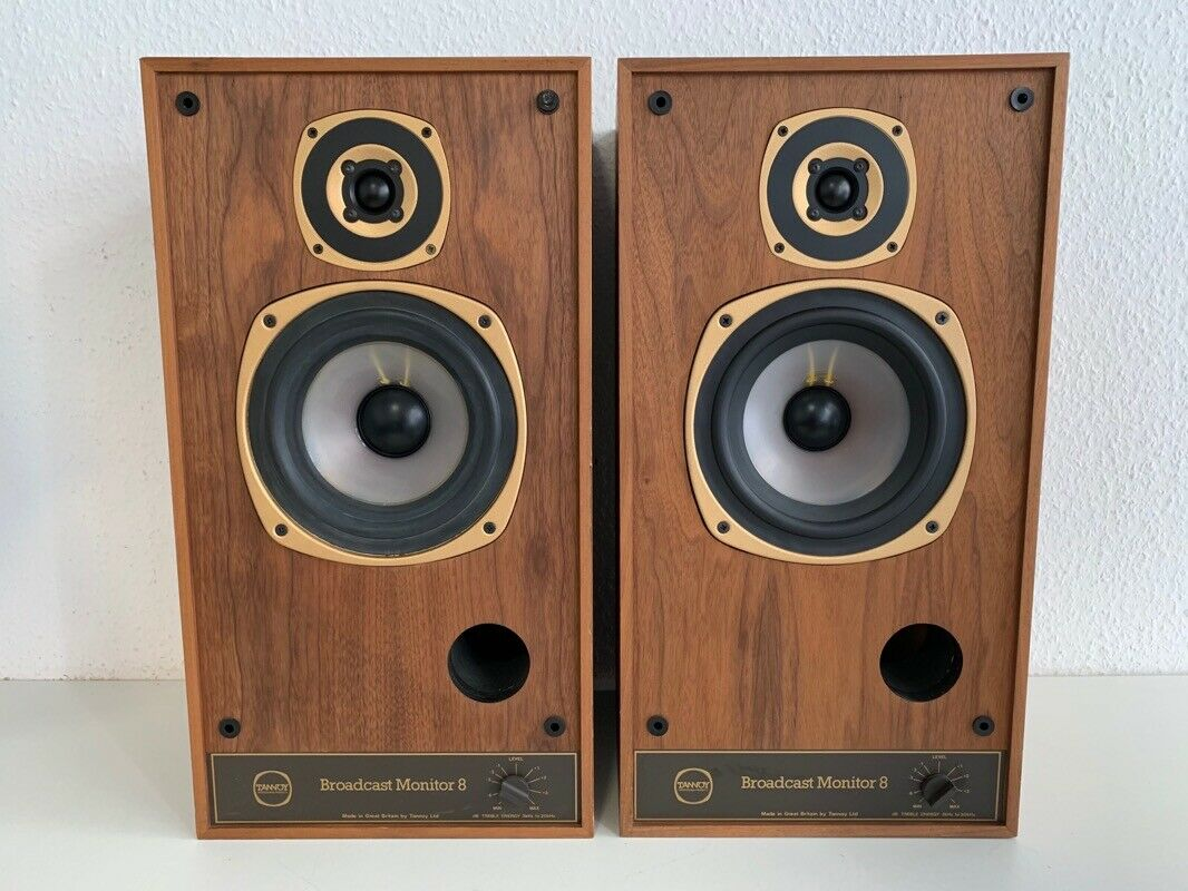 2x Tannoy Broadcast Monitor 8 Speaker   Lautsprecher (SRM, LRM)