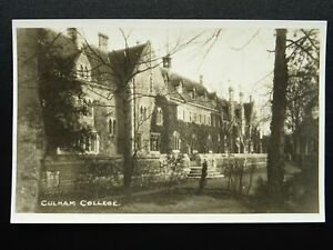 Oxfordshire-CULHAM-COLLEGE-Old-RP-Postcard-by-Charleton-of-Abingdon