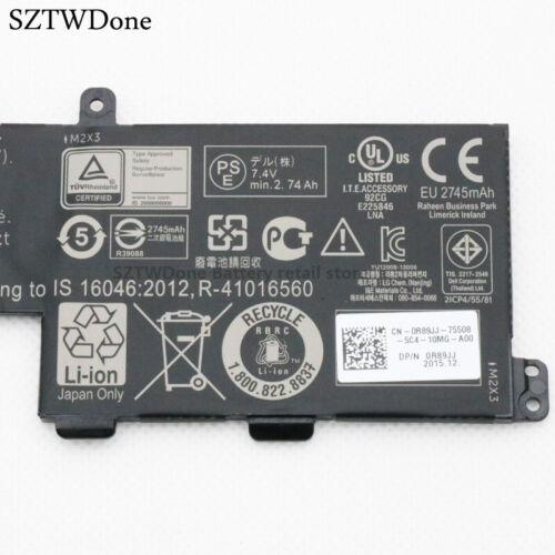 TM9HP 0 frvyx Batteria per 13 7350 Tastiera Dock BATTERIA