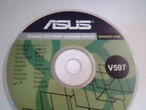 Original asus eah5570 silent ati treiber cd dvd driver manual c10.