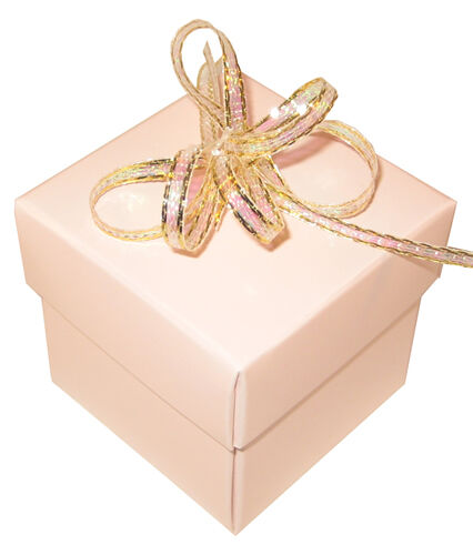 English Wedding Favours Square Favour Boxes And Lids Heavily