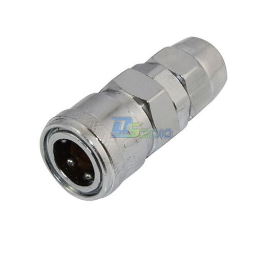 Hose OD8-12mm Air Line Hose Quick Release Disconnect Coupling Connector Fittings