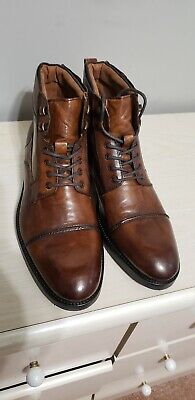 Kenneth Cole Reaction Men S Brewster Lace Up Boot Size 10