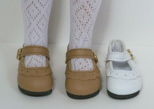 "Debs LT BROWN Classic CF Doll Shoes For Dianna Effner 13/"" Little Darling Vinyl"