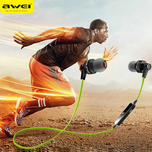 Awei A990BL Wireless Sports Bluetooth Noise Isolation Earphone RS#27