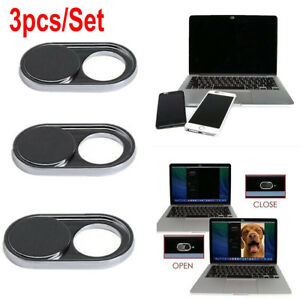 3pcs WebCam Shutter Covers Web Laptop Pad