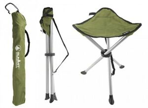 Summit Strong Camping Fishing Folding Travel Tripod Stool