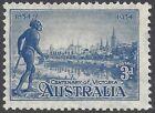 Australia 1934 3d Blue VICTORIA CENTENARY Perf 11½ (1) Mint No Gum SG 148 (M181)