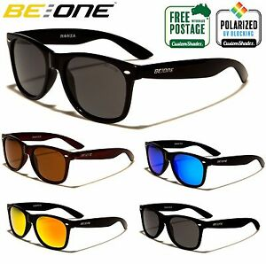 dd15c0899d Be One Polarised Sunglasses - Classic Retro Frame - Men s   Women s ...