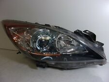 2012 2013 Mazda 3 Passenger Rh Halogen Headlight With Blue Projector Bezel Oem Fits Mazda 3
