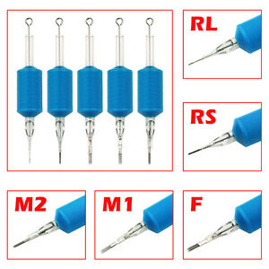 6PCS-Lot-Blue-Disposable-Tattoo-Tube-Tips-with-Nozzle-Needles-Grip