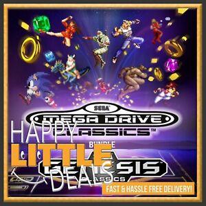 SEGA-Mega-Drive-and-Genesis-Classics-PC-STEAM-GAME-GLOBAL-NO-CD-DVD-50-Games