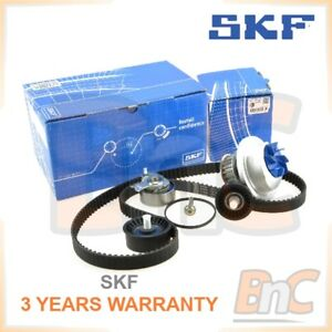 SKF-HEAVY-DUTY-TIMING-BELT-KIT-CAMBELT-SET-TENSIONER-PULLEY-amp-WATER-PUMP-OPEL