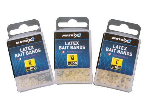 Fox Matrix Latex Appât Bandes 100pcs//Cours