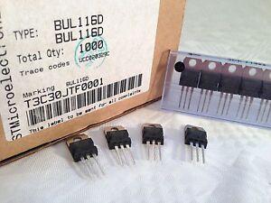 20-pieces-BUL116D-NPN-POWER-TRANSISTOR-200V-400V-5A-60W-NEW