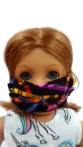 Colorful-Crayons-Face-Mask-18-034-Doll-Clothes-fits-American-Girl-Doll