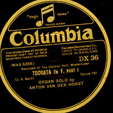 ANTON VAN DER HORST -ORGAN- Bach: Toccata in F  (recorded at Westminster) G2806
