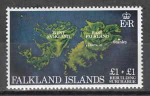 Falkland Islands Nº 354 ** Reconstruction Des îles Falkland-afficher Le Titre D'origine à Tout Prix