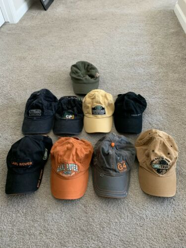 Land Rover Hats collection rare Range Rover great