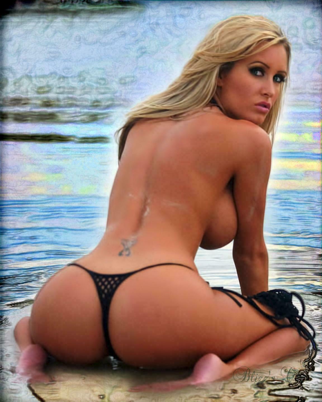 Blonde Bikini
