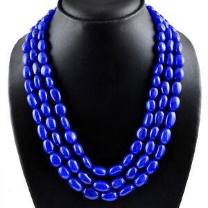821-50-CTS-EARTH-MINED-RICH-BLUE-SAPPHIRE-3-STRAND-OVAL-SHAPED-BEADS-NECKLACE