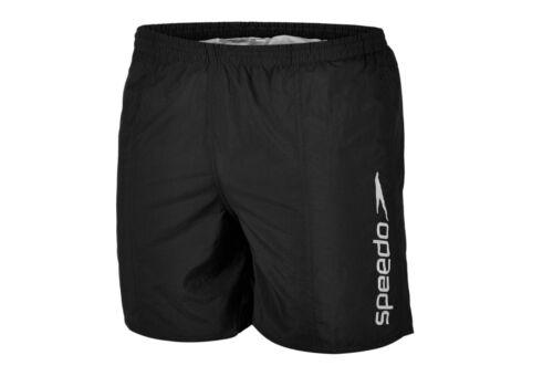 speedo boys swimming shorts trunks age 6 7  small BLACK NEW TAGS