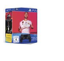 Artikelbild SONY DUALSHOCK 4 Wireless-Controller Jet Black EA Sports FIFA 20 NEU OVP