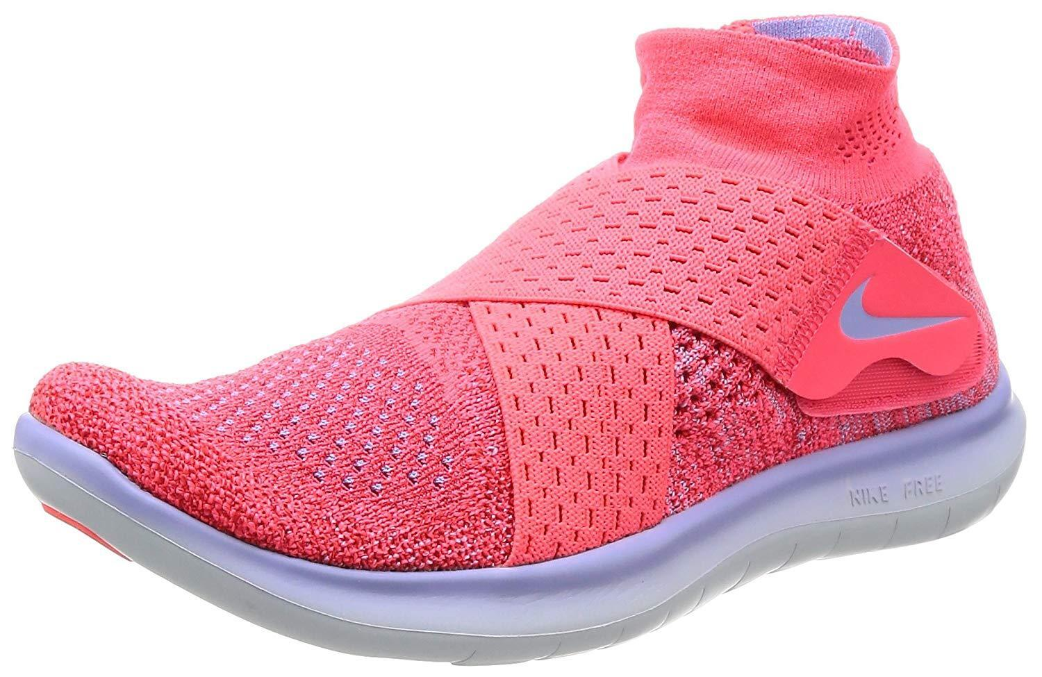 NIKE Women's Free RN Motion FK 2017 Running shoes - Size 8 (SOLAR RED blueE) 88084