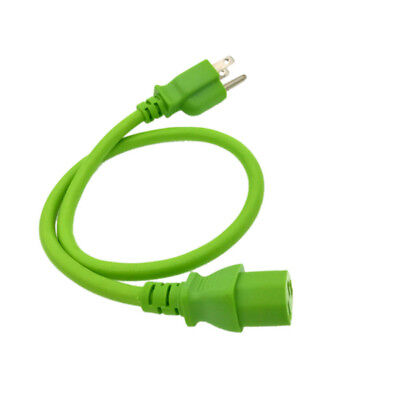 Green 6 FT COLOR CODE AC REPLACEMENT POWER CABLE CORD FOR SAMSUNG LG LCD TV HDTV