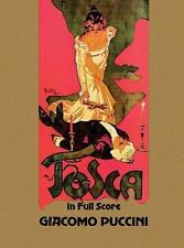 Tosca in Full Score (Dover Music Scores), Opera and Choral Scores, Puccini, Giac