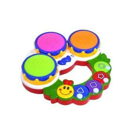 Caterpillars Drums Infant Toy