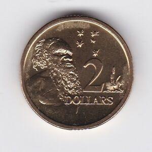 2007-Australia-2-Two-Dollar-Aboriginal-Elder-UNC-Uncirculated-Coin-ex-UNC-Set