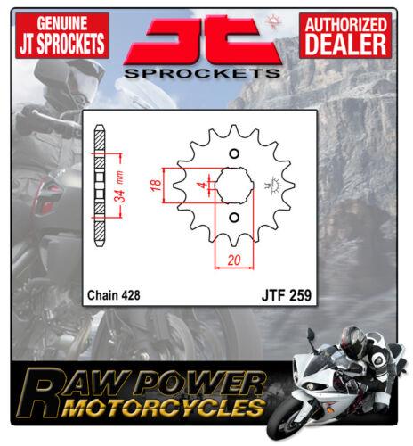 Honda CB125 TDC,TDE,TDJ   82-88 JT Front Sprocket JTF259