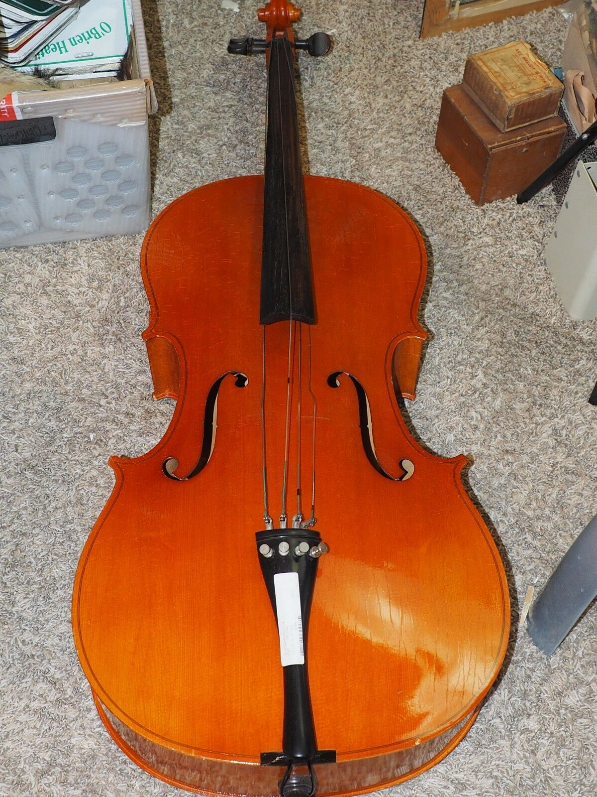 This Karl Knilling cello has an inner label stating it is Made in Germany.  No.