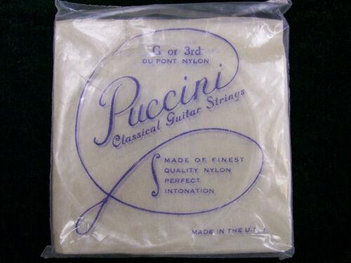 Puccini Classical Guitar String Plain End B 2nd DuPont Nylon