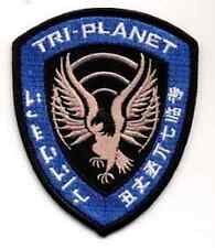 """Serenity/Firefly  Tri-Planet Blue Alliance Security  Logo 4"""" Patch  (SEPA-019)"""