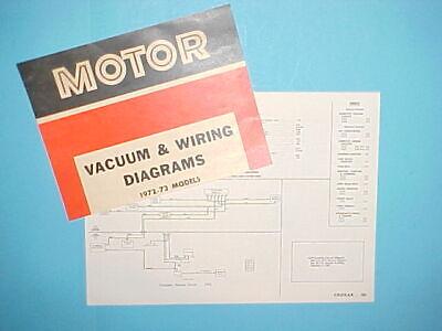 1972 1973 MERCURY COUGAR XR-7 CONVERTIBLE HARDTOP VACUUM ...