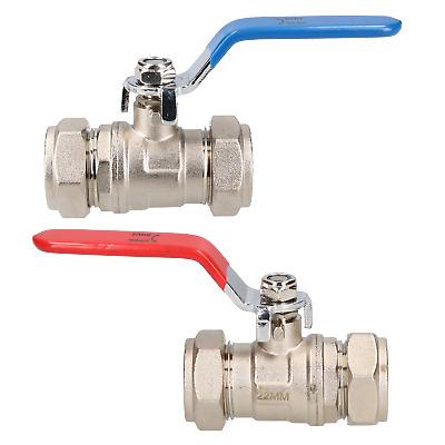 lever ball valve blue