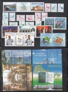 Uzbekistan-Usbekistan-MNH-2017-Mi-1170-1207-Complete-Year-Set-4-Scan