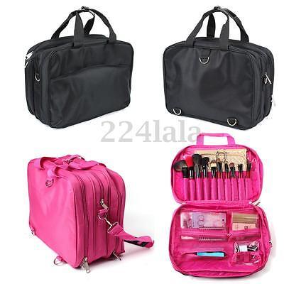 Pro Makeup Bag Case Cosmetic Brush Pouch Storage Handle Organizer Artist Travel