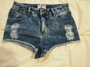 Shorts Micro Mini Taglia Selfridge Miss Denim 8 ERx4wIgq0