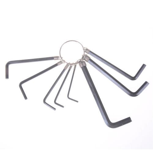 8 dans 1 1.5 mm ~ 6mm hex Key clé Allen Set métrique kit outil à main OPFR