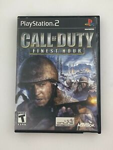 Call of Duty: Finest Hour - Playstation 2 PS2 Game - Tested