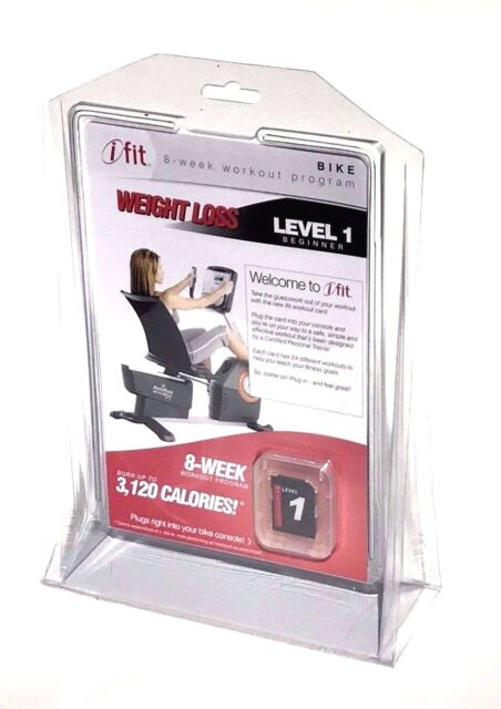 Ifit Elliptical Workout Card Weight Loss Level 1 Beginner 24