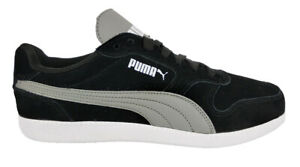 milicia hélice Adelantar  PUMA MENS SHOES PUMA ICRA TRAINER SD 356741-03 LEATHER BLACK ACTIVE  LIFESTYLE | eBay