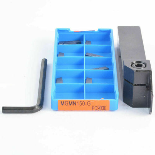 MGEHR1616-1.5+10pcs MGMN150-G PC9030 CNC External slot Groov turning tool holder