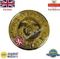 Kilt Fly Plaid Brooch Us Marine Gold Finish 3/highland Fly Plaid Brooches